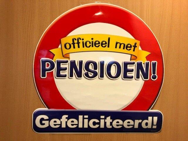 Pensioen Theo Van Der Zwaan